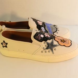 Coach Women's Sneakers w/ Sequins and Star size 7B